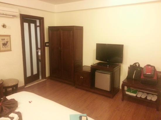Hanoi Charming 2 Hotel: My room 2