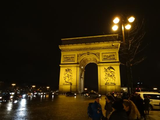 Hotel Westside Arc de Triomphe: Arc de Triomphe