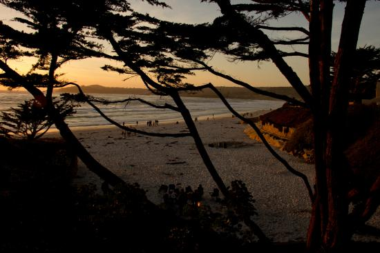 Edgemere Cottages: carmel beach, 2 min walk from room