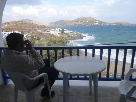 Senia Hotel: balcony view