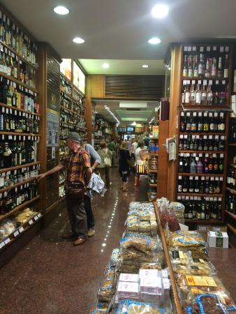 Castroni: Great selection - leave room in your suitcase
