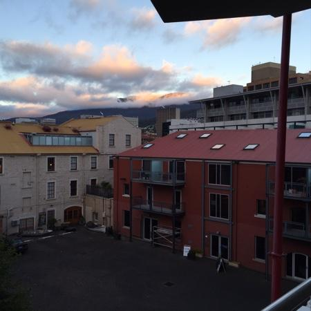 Sullivans Cove Apartments: the view from our apartment