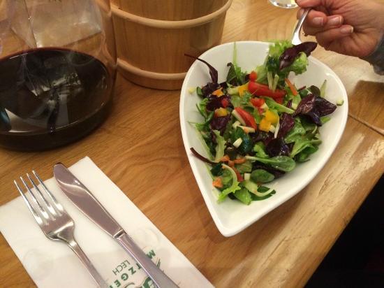 Hagen's Dorfmetzgerei: erfrischender Salat