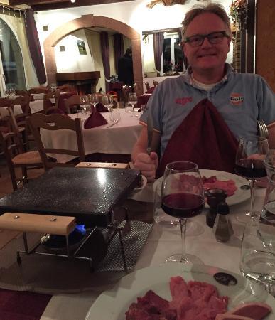 Hotel Restaurant Du Haut du Roc : Lovely food