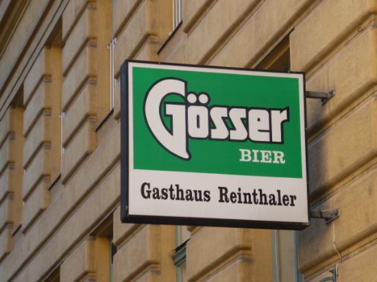 Gasthaus Reinthaler: Tucked up a side street