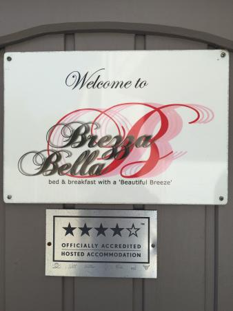 Brezza Bella Bed & Breakfast: Welcome to paradise!