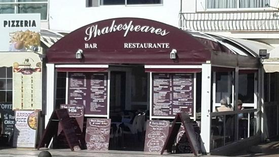 Shakespeares Bar/ restaurant