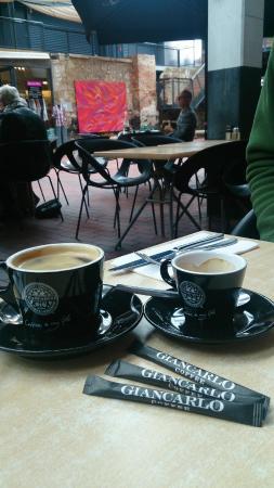 Jam Packed: Giancarlo coffee