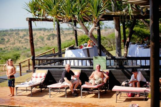 Bayete Zulu Boutique Lodge: Pool Area