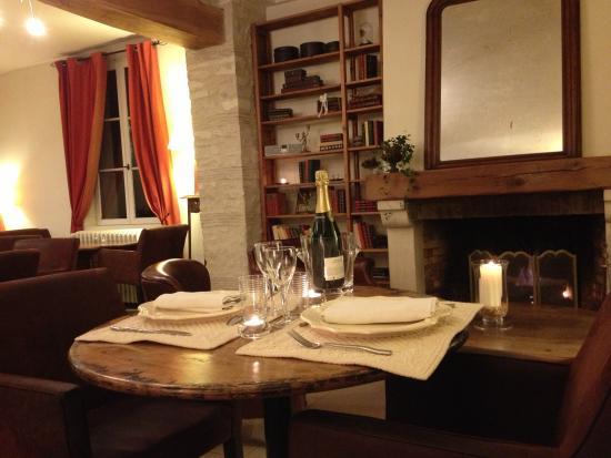 L'Aunette Cottage : Notre Table d'Hôte du week-end