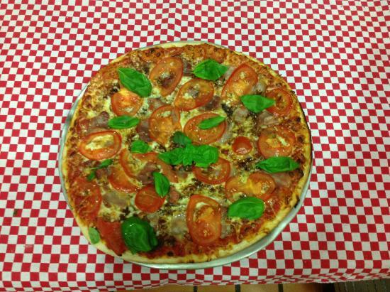 Pizza Loulou: en été la Corsica