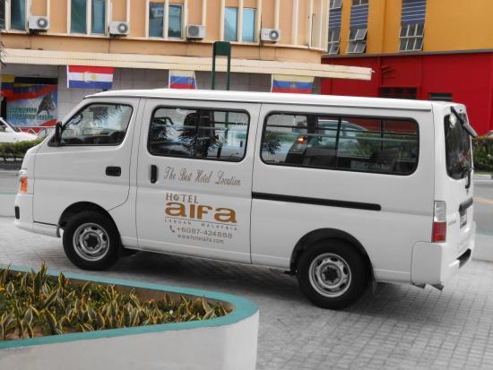 Hotel Aifa Labuan: Hotel van