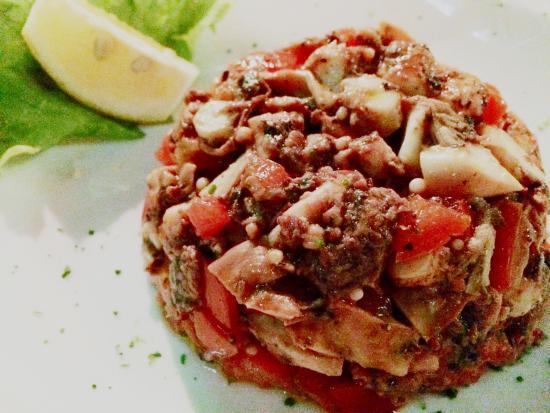 Marea Restaurant: Insalata di Polpo con Pomodorini
