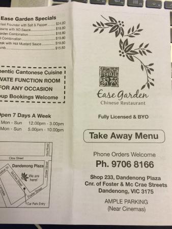 Dessert Picture Of Ease Garden Chinese Restaurant Dandenong Tripadvisor