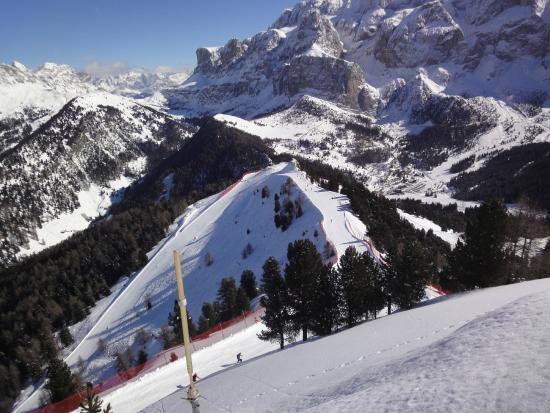 sass pordoi - Picture of La Terrazza delle Dolomiti, Canazei ...