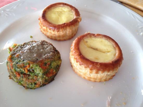 Voulent vant e tortino bagna caoda - Picture of Trattoria -Pizzeria ...