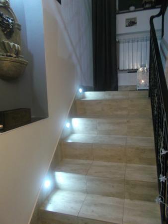 Willa Pod Losiem: Schody prowadzące na piętro