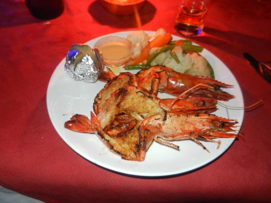 Rivercove: Tasty tiger prawns
