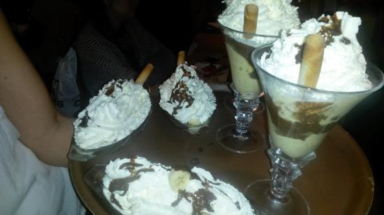 Le Tyrolien: les desserts