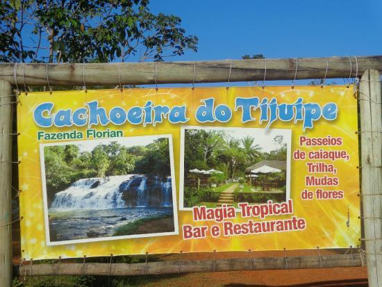 Tijuipe Waterfall: Cachoeira do Jijuipe