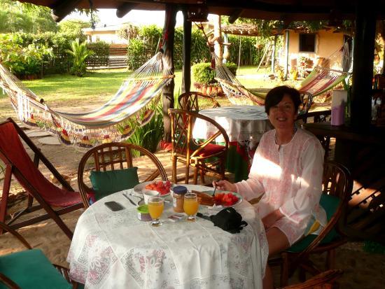 Dim's Hostal: zona colazione