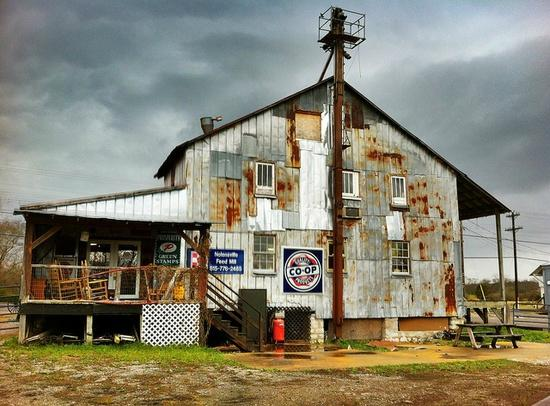 Nolensville, TN: Back of the Old Historic Mill