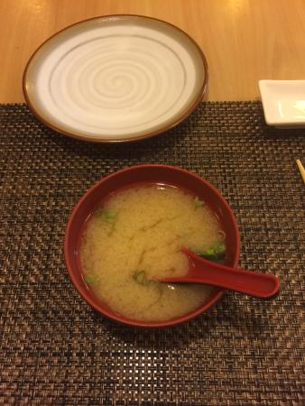 Sushi Tei Restaurant: Miso soup
