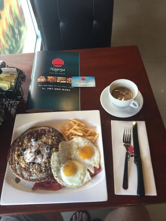 Nagoya Japanese Cuisine: Blueberry pancakes