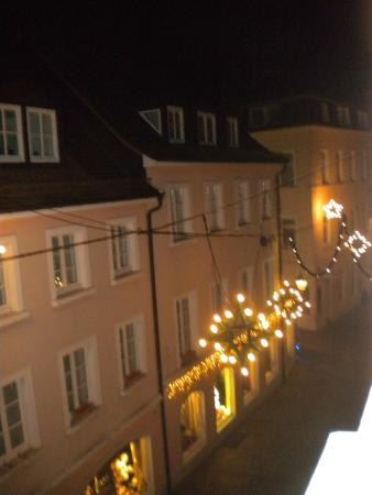 Hotel Am Friedrichsbad mit Prager Stuben: View from the room.