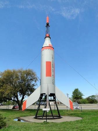 Air Power Park: mercury little joe booster