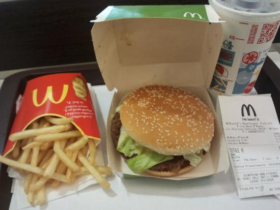 McDonald's: big tasty bacon menù