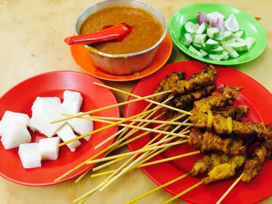 Sun May Hiong Satay House: Yummy satay!