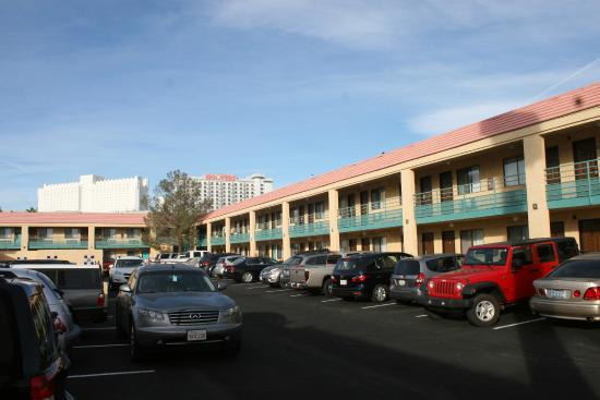 North Side Of Travelodge Las Vegas Notice The Double