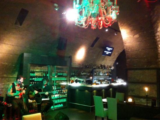 Cafe Bily Konicek: Salle