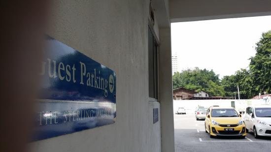 The Sterling Boutique Hotel Melaka: Secure parking