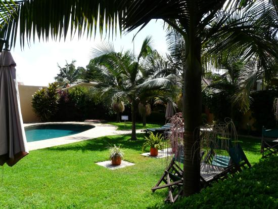 Ahadi Lodge: The lovely garden