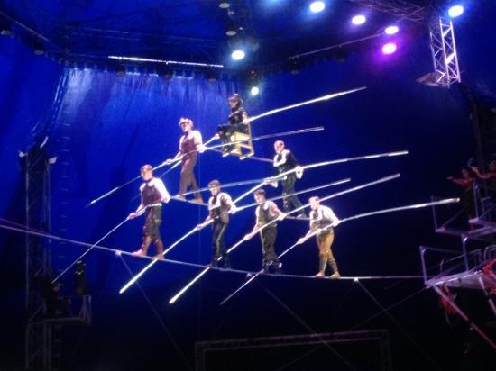 Circus Sarasota: The Walenda High Wire Pyramid