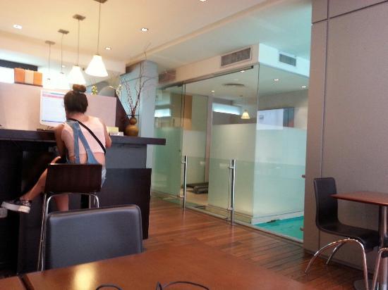 Hotel Ayres De liberdad: Sector de PC del lobby
