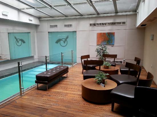 Hotel Ayres De liberdad: Pileta en el lobby