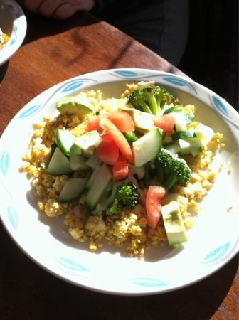 Seva: Thai salad - great cilantro lime vinagarette