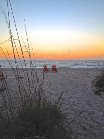 On the Beach- Casey Key: Beach at sunset
