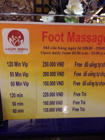 ‪Hoa Sen Foot Massage‬