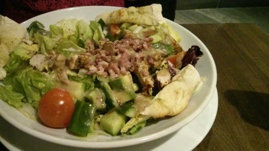 Prezzo: avocado and ham salad
