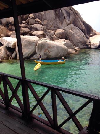 Tao Thong Villa: Taxi boat
