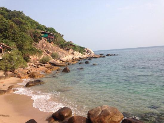 Tao Thong Villa: La plage privée :-)