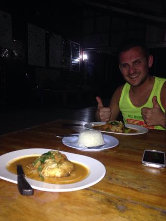 Tao Thong Villa: La cuisine du Tao ;-)
