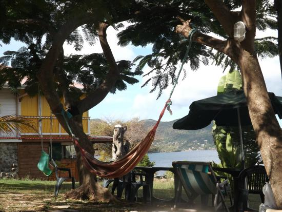 Boone Vacances: hamac dans le jardin