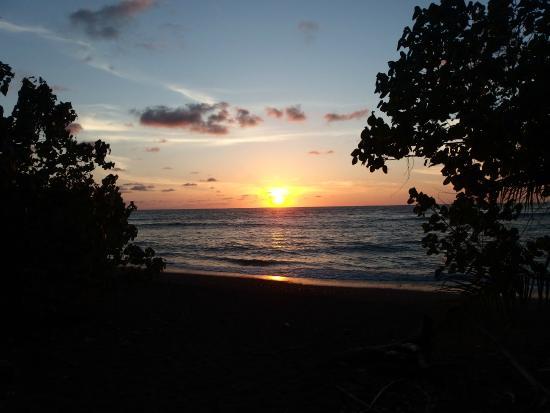 Corcovado Info Center: Coucher de Soleil