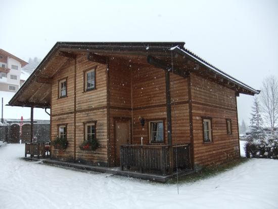 Almdorf Wildschönau: Our cabin-semi detached.