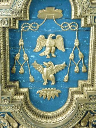 Basilica di San Crisogono: soffitto-particolare